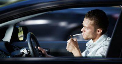 Fumar en los coches privados