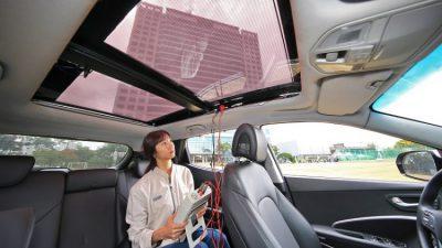 Hyundai crea unas placas solares para techos