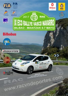 Cartel Eco Rallye